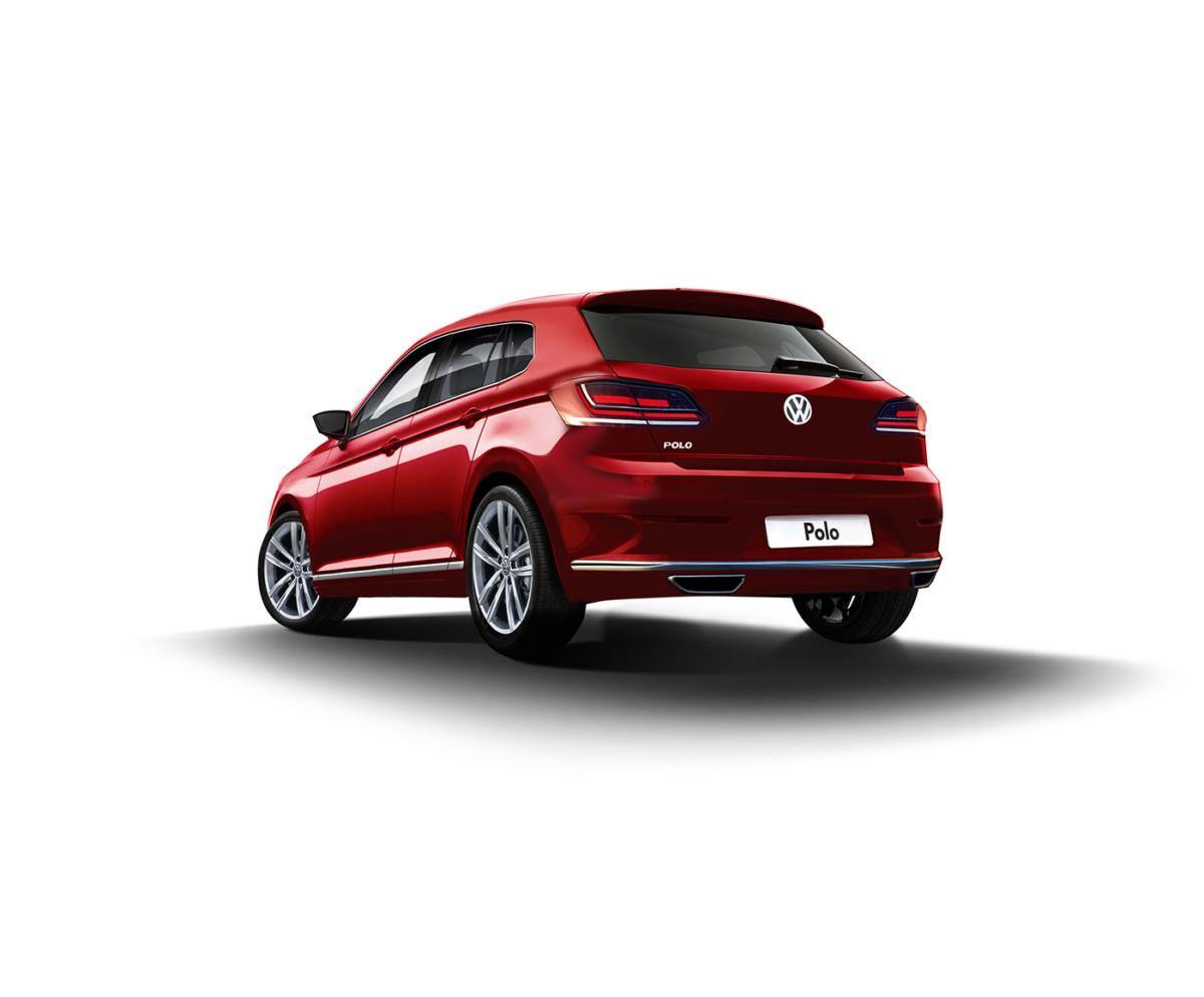 Вглобальной сети опубликовали независимый рендер нового VW Polo