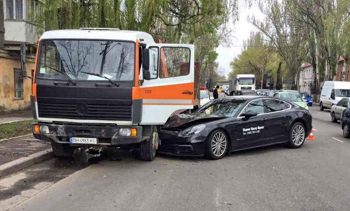 Авария Порше в Одессе