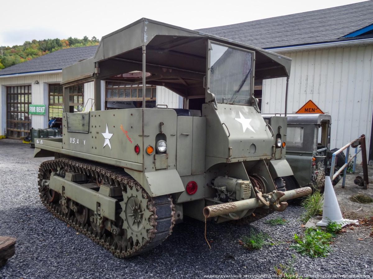 Американский артиллерийский тягач М548