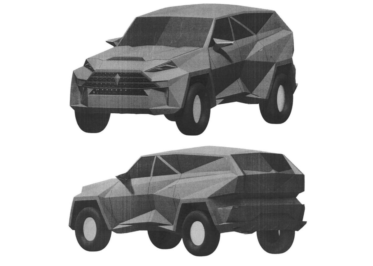 В РФ запатентовали китайский автомобиль за $2 млн