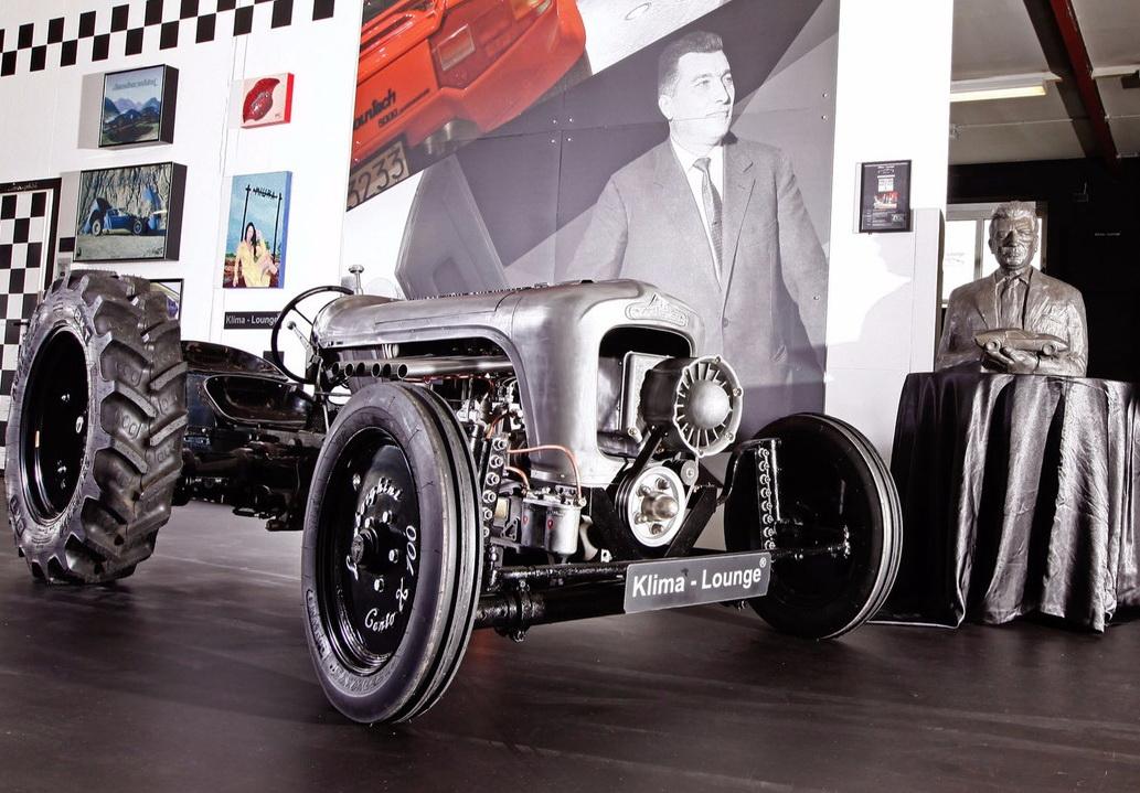 трактор Lamborghini Centenario