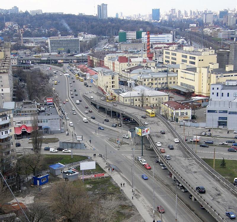 В Киеве сегодня ограничат движение по проспекту Науки