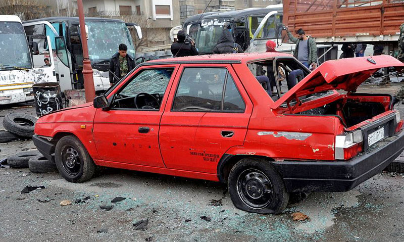 Боевые действия в Сирии уничтожили уникальный прототип Skoda favorit sedan