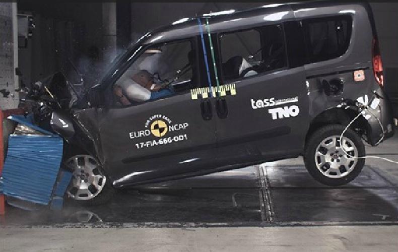 Новые BMW 5 Series и Fiat Doblo прошли краш-тесты EuroNCAP