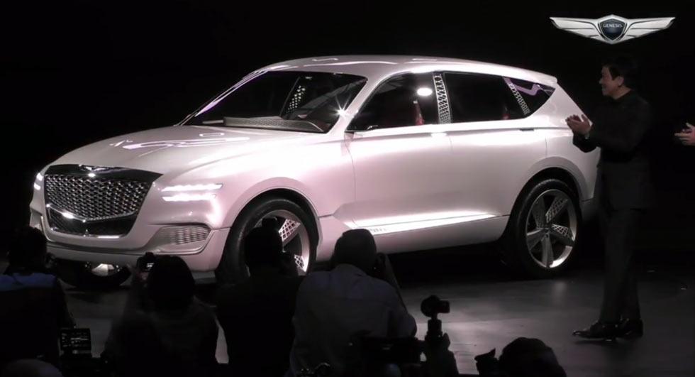 Genesis GV80: каким будет первый премиум-кроссовер от Hyundai