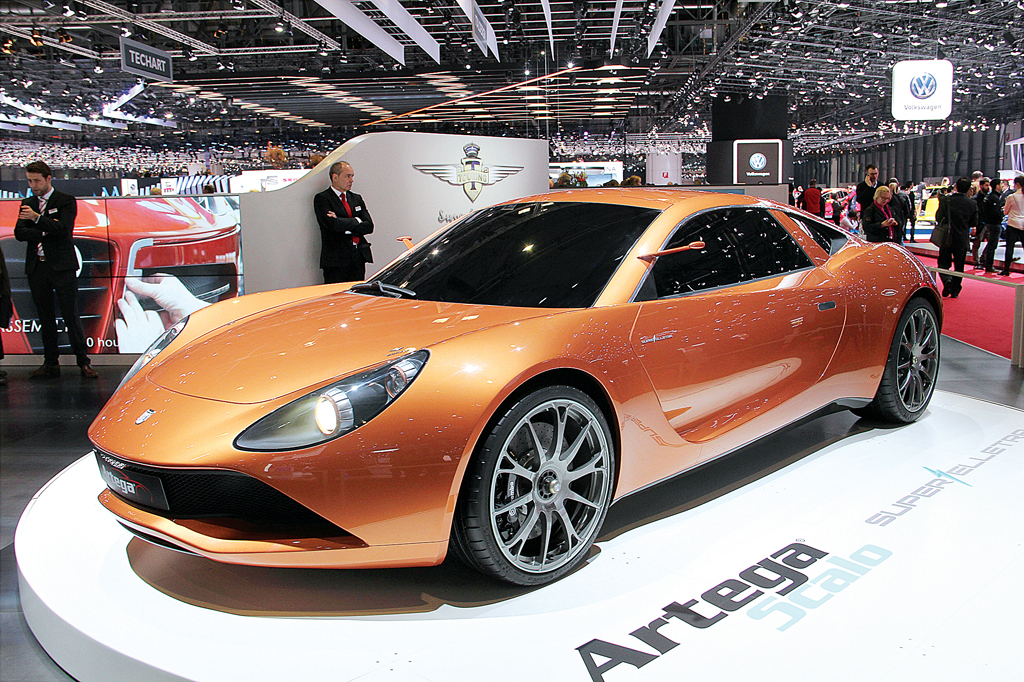 Самые быстрые суперкары и концепты Женевского автосалона