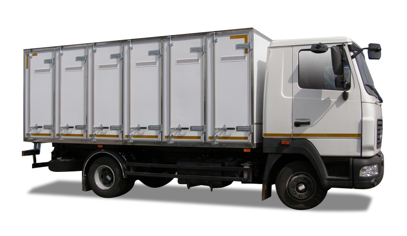 хлебный фургон на базе МАЗ Зубренок
