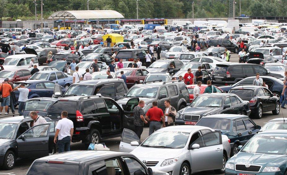 Импорт б/у авто в Украину вырос в 6 раз за год
