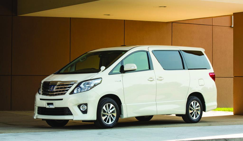 Toyota Allphard HV