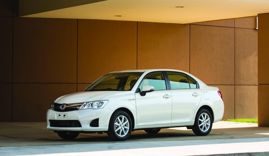 Toyota Corolla Hybrid, 2013