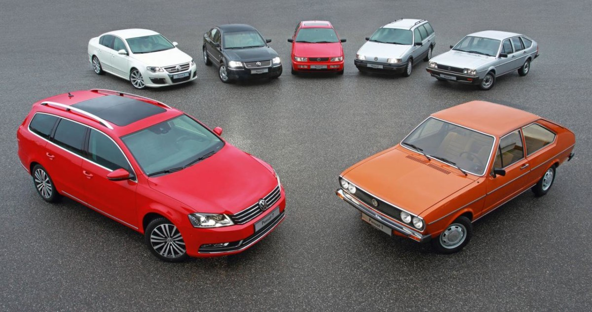 VWсравнил цены наPassat за43 года