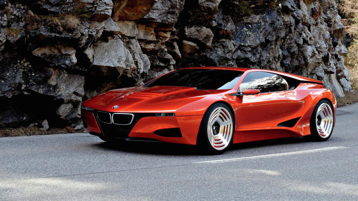 Гибридный гиперкар BMW бросит вызов McLaren P1 и Ferrari LaFerrari