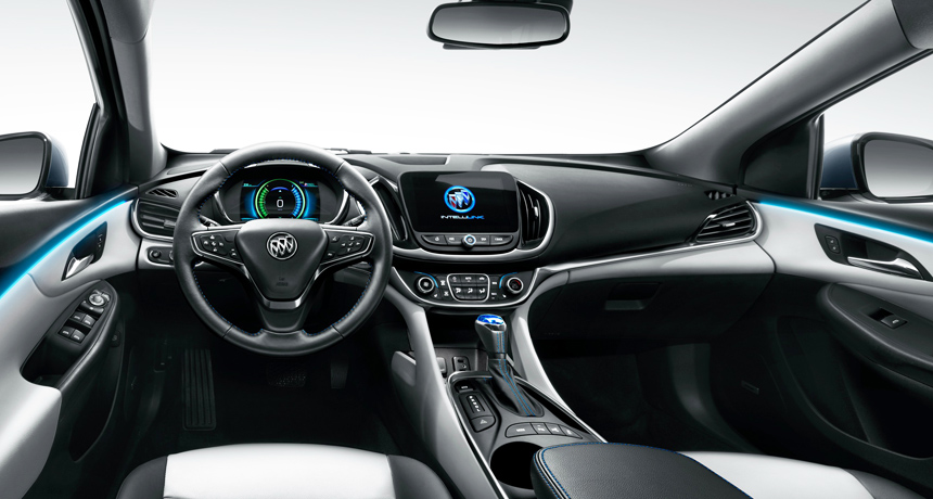 Гибрид Buick Velite 2018 рассекречен перед премьерой в Шанхае