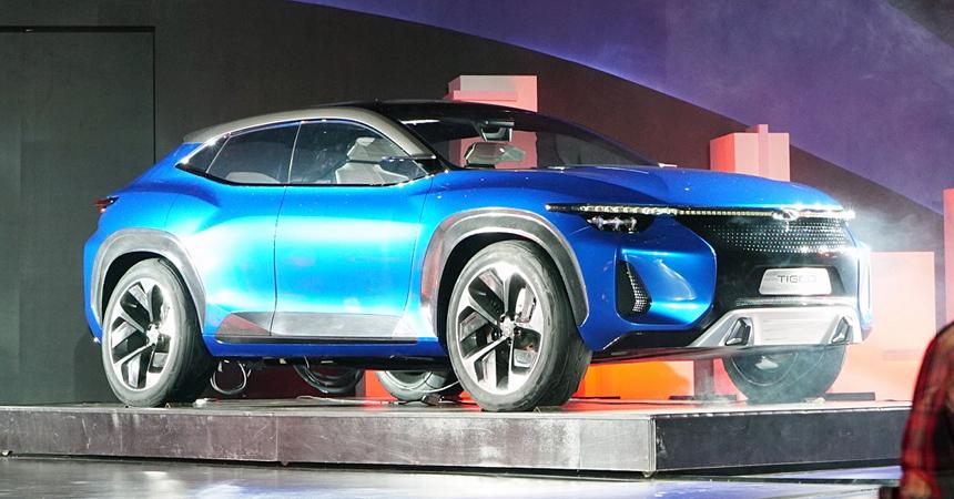 Chery Tiggo Coupe, ФОТО: autohome.com.cn