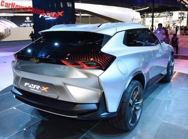 Chevrolet FNR-X показал, каким будет серийный купе-кроссовер Шевроле.
