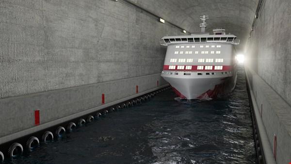 В Норвегии построят первый в мире тоннель для судов