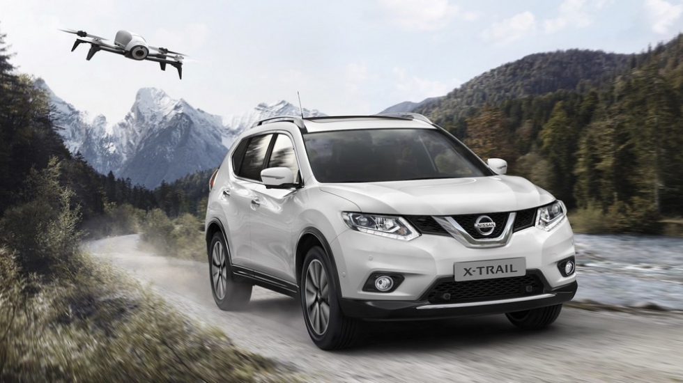 Nissan X-Trail 2017 предложили в комплекте с дроном