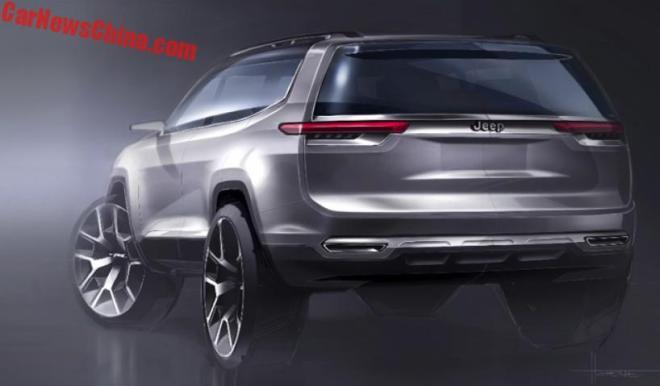 Семиместный кроссовер Jeep бросит вызов VW Atlas и Toyota Highander