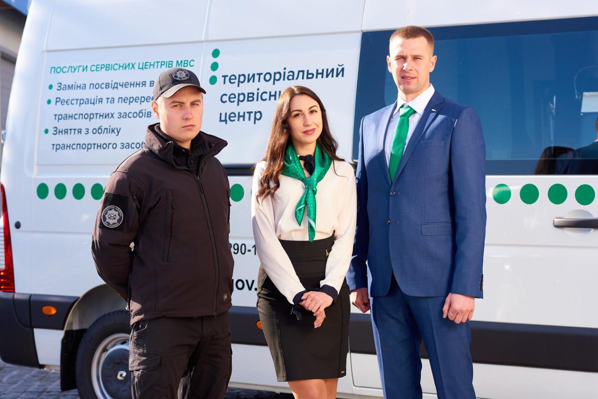 Мобильные сервисные центры МВД начали обслуживать граждан