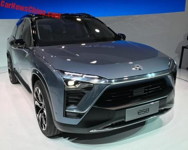 Китайский электрокроссовер Nio ES8 бросит вызов Tesla Model X