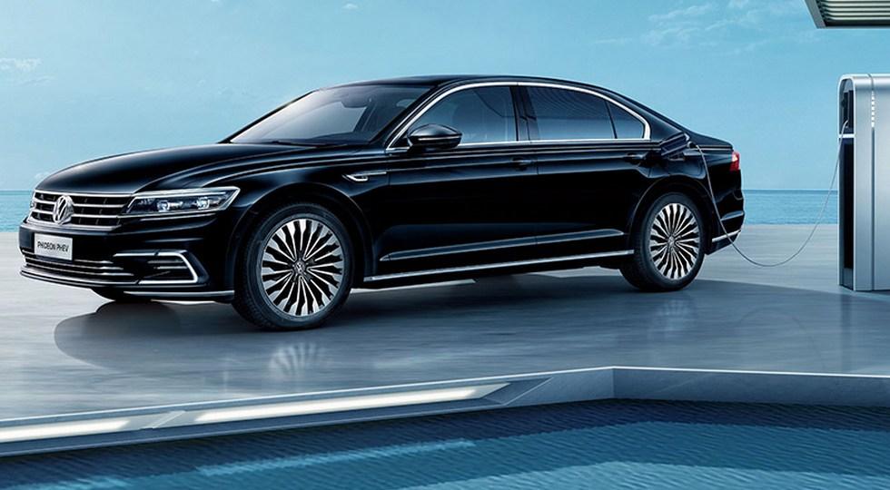 Флагманский седан Volkswagen станет гибридом