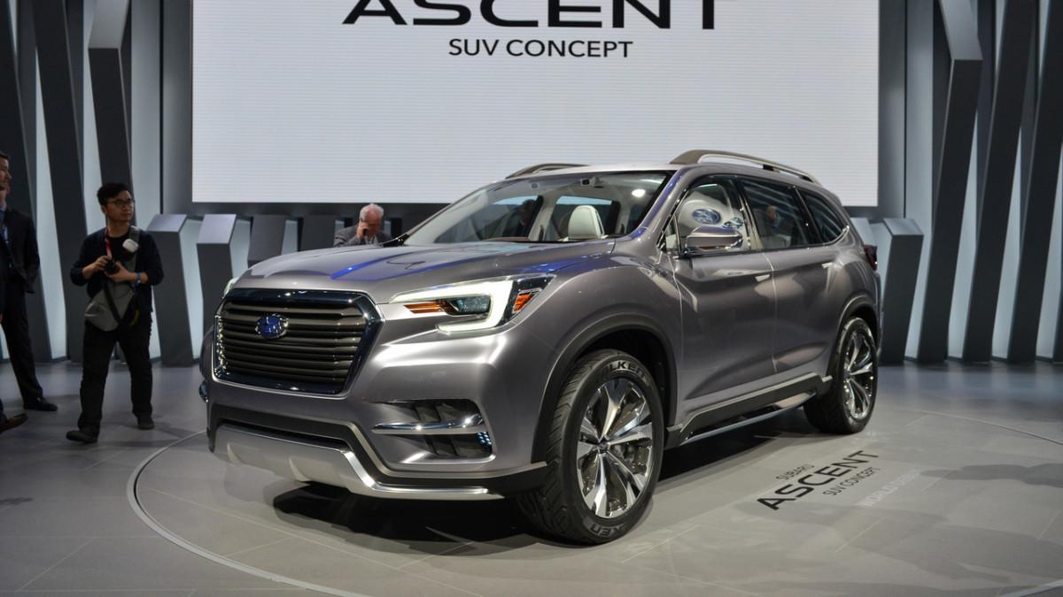 Subaru Ascent: каким будет семиместный кроссовер Субару