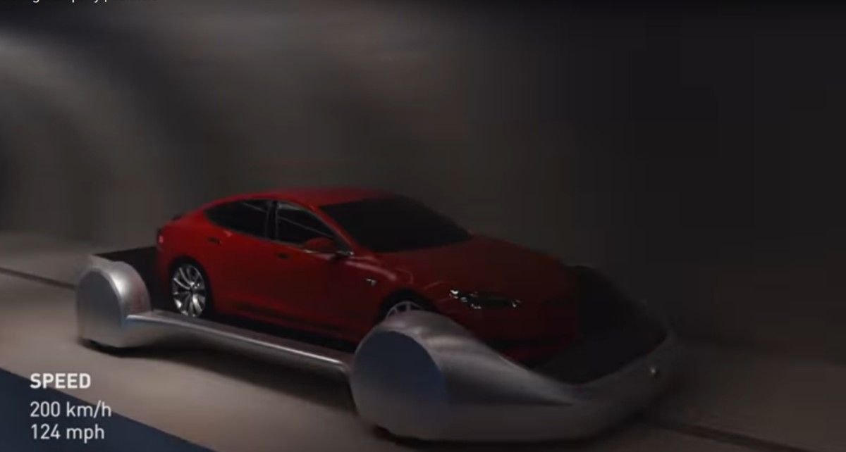 Руководитель Tesla показал, как избавить город от пробок