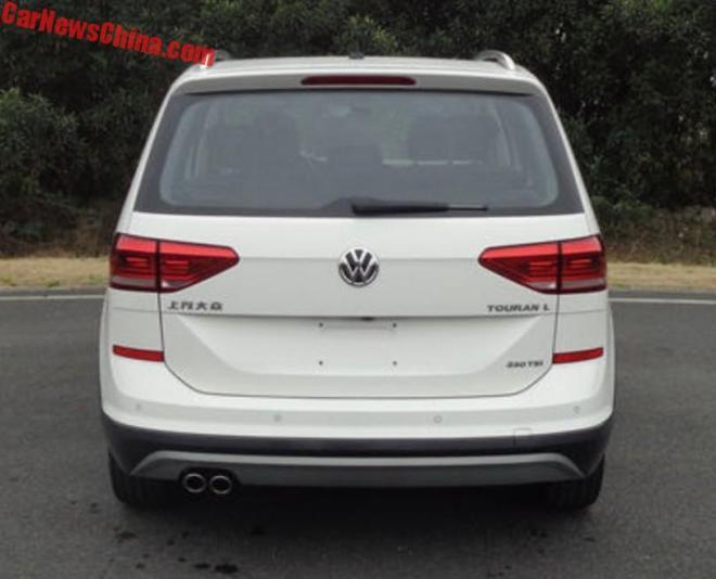 Внедорожный мини-вэн Volkswagen CrossTouran 2018 рассекречен