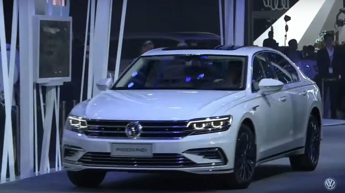 Volkswagen Phideon GTE: подзаряжаемый гибрид премиум-класса