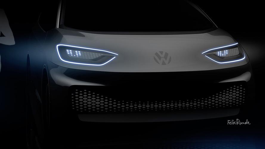 Volkswagen в апреле презентует два электромобиля