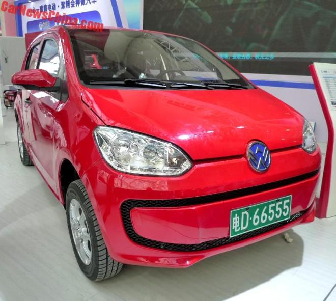 Weikerui V7 – китайский клон Volkswagen up с электромотором
