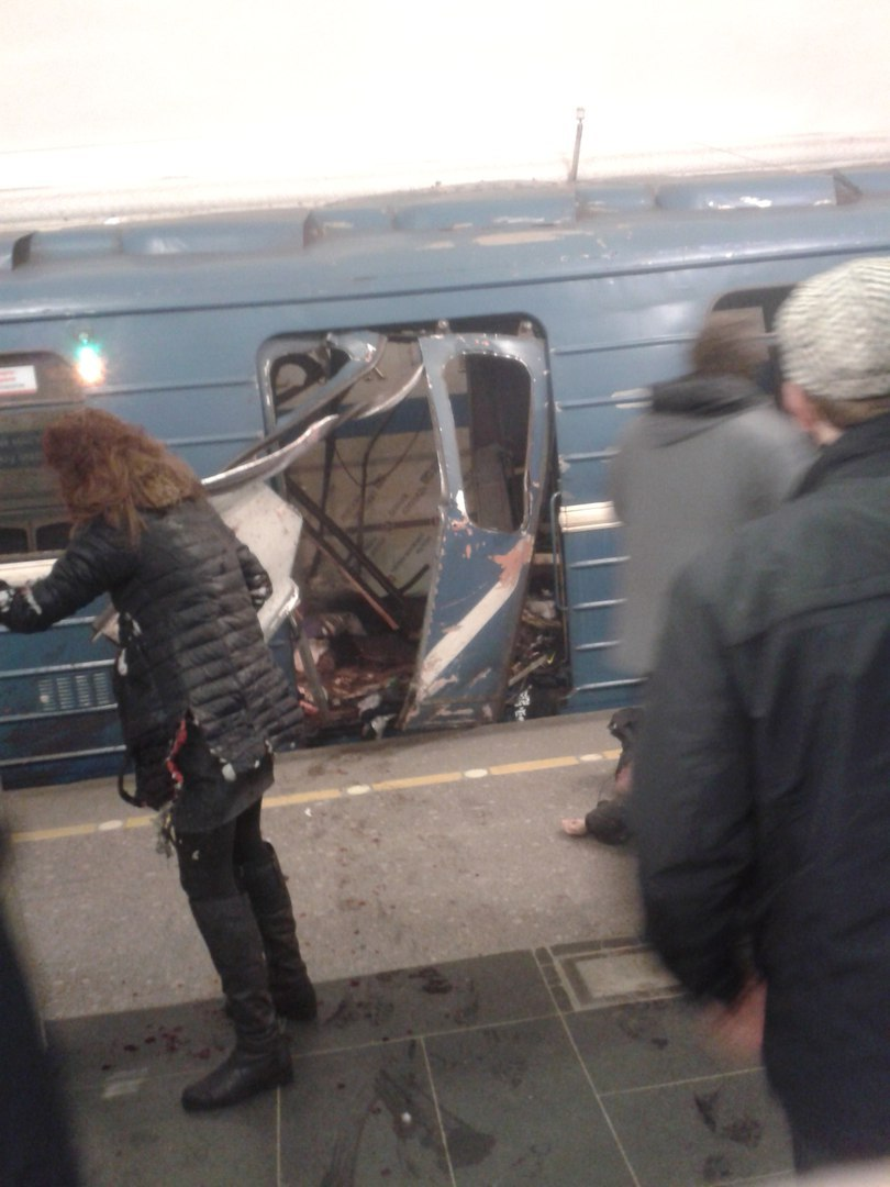 взрыв метро санкт петербурга 3 апреля 2017