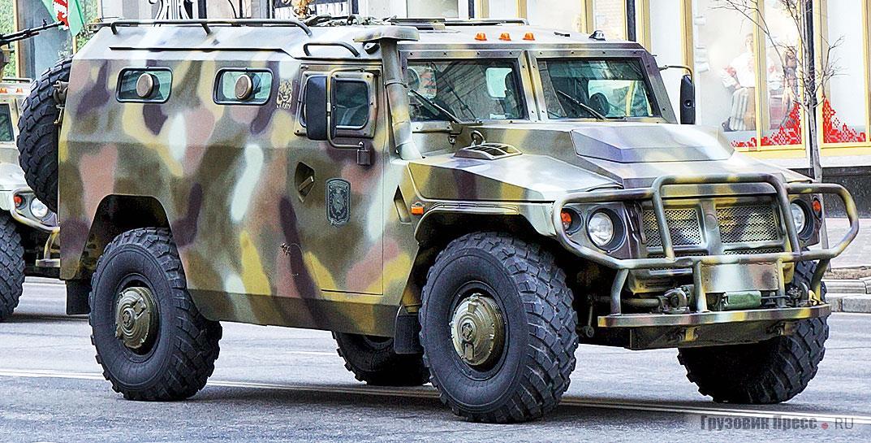Бронеавтомобиль ВПК 233136 «Лис-БМ» на базе ГАЗ «Тигр»