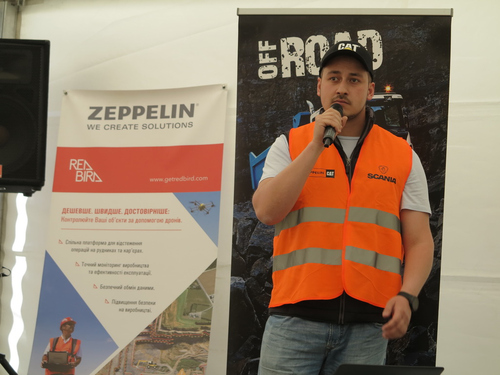 Руководитель департамента строительной техники ООО «Цеппелин Украина» Фарид Абу Хадид