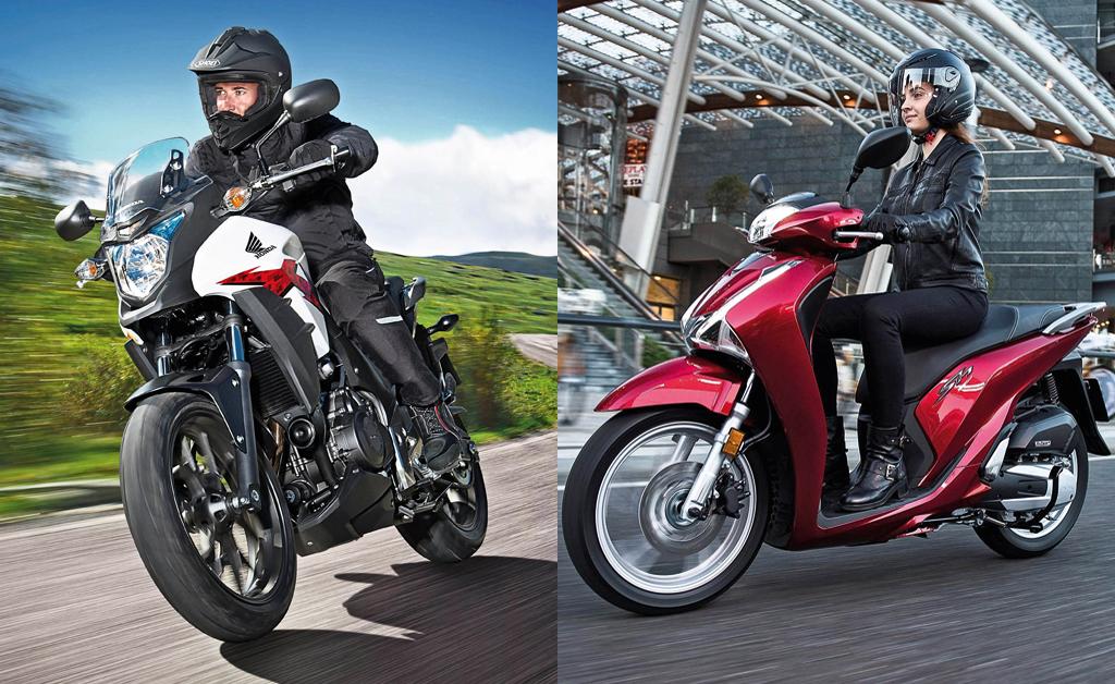Что купить мотоцикл или скутер