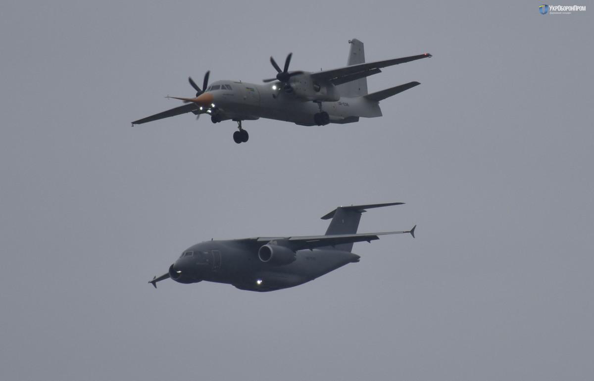 IDEF 2017: самолеты АН