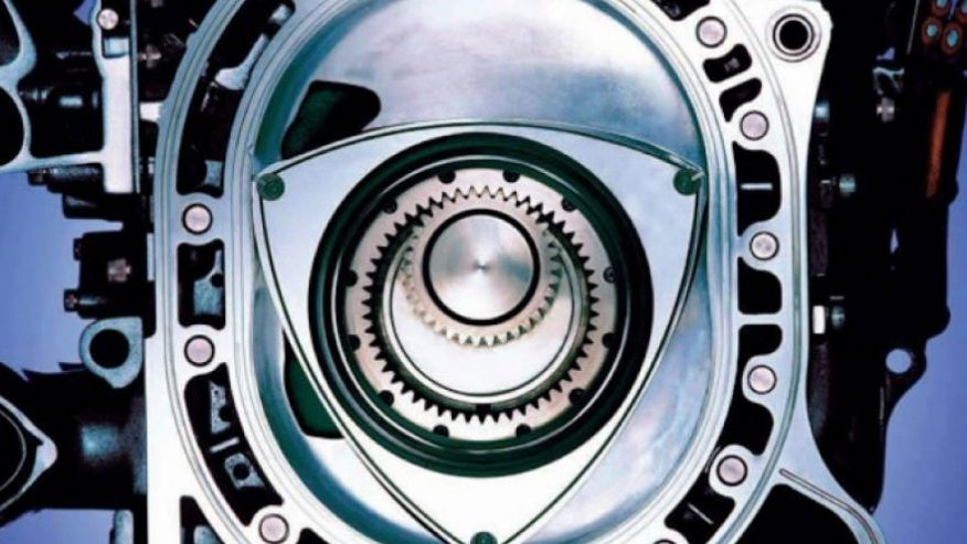 Новый роторный двигатель Мазда будет работать на водороде