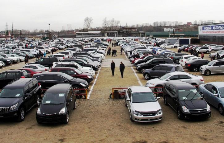 Названа средняя стоимость б/у авто, ввозимых в Украину