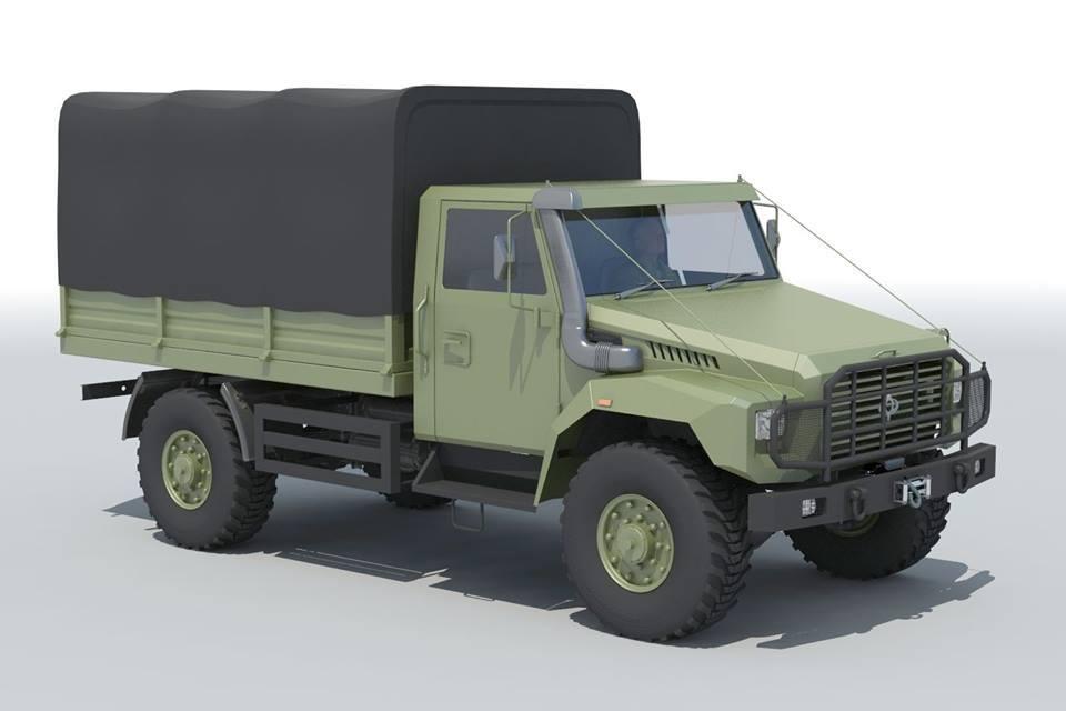 Вездеход для украинской армии: проект DIGITEC Visual Engineering