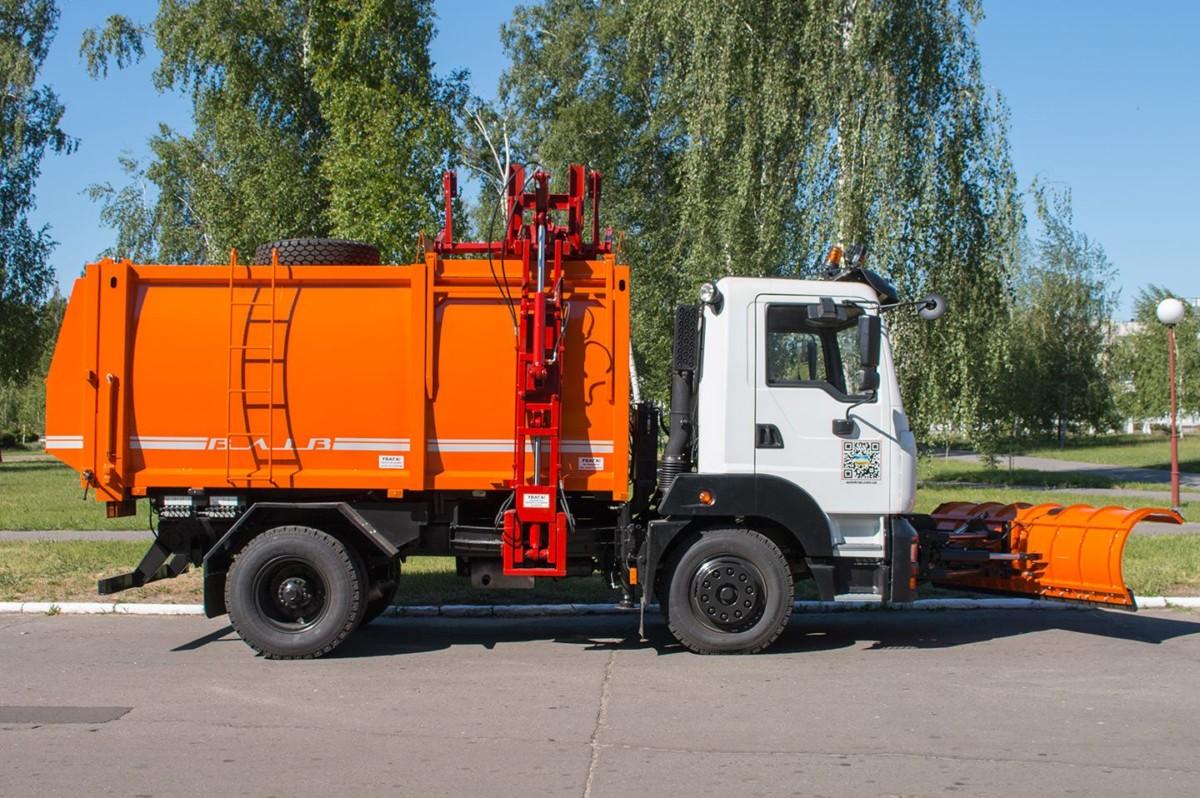 мусоровоз КрАЗ-5401 с боковой загрузкой