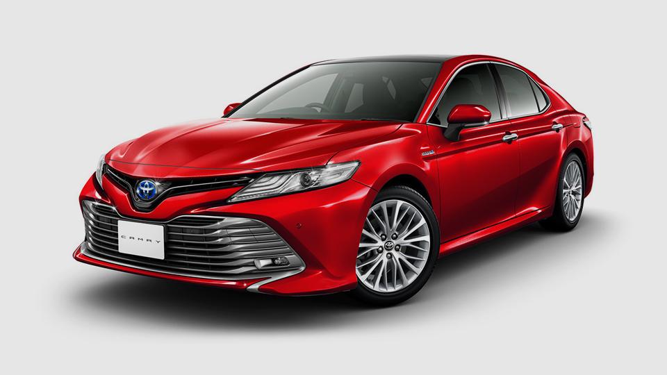 Одна навсех: новая Toyota Camry добралась дородины