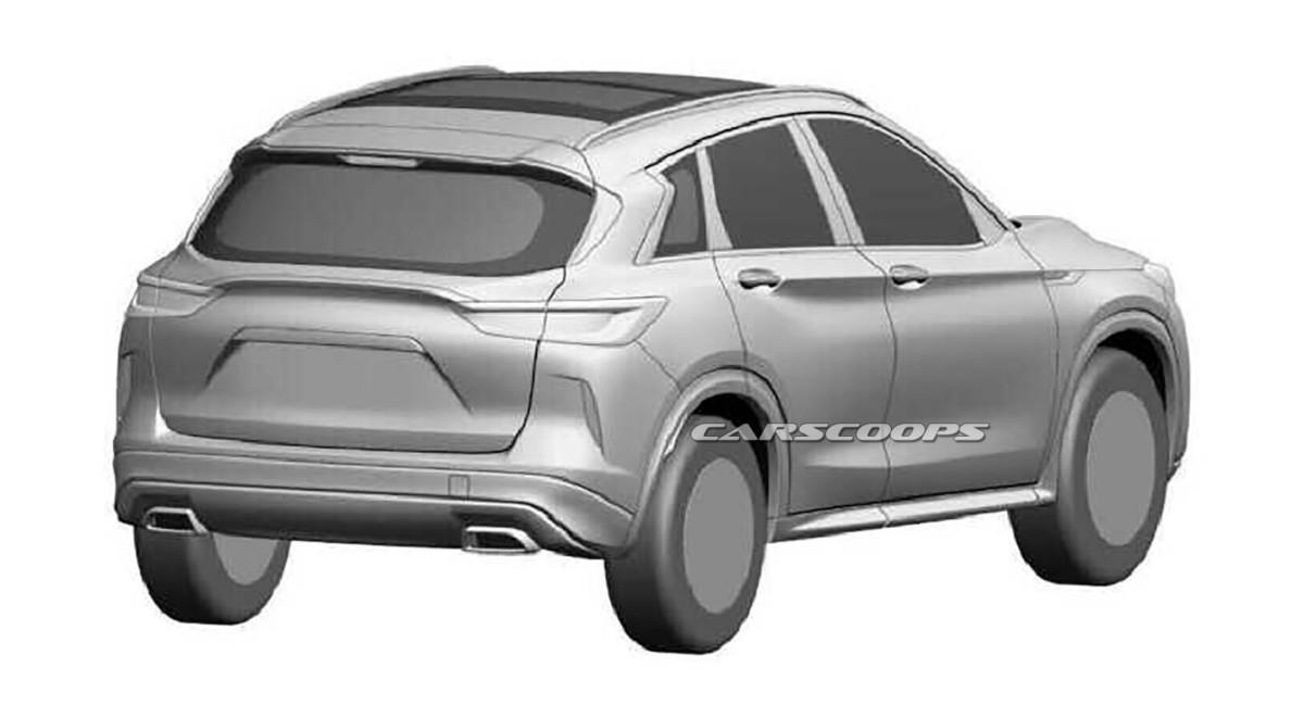 Infiniti QX50 2018: первые изображения нового конкурента Audi Q5