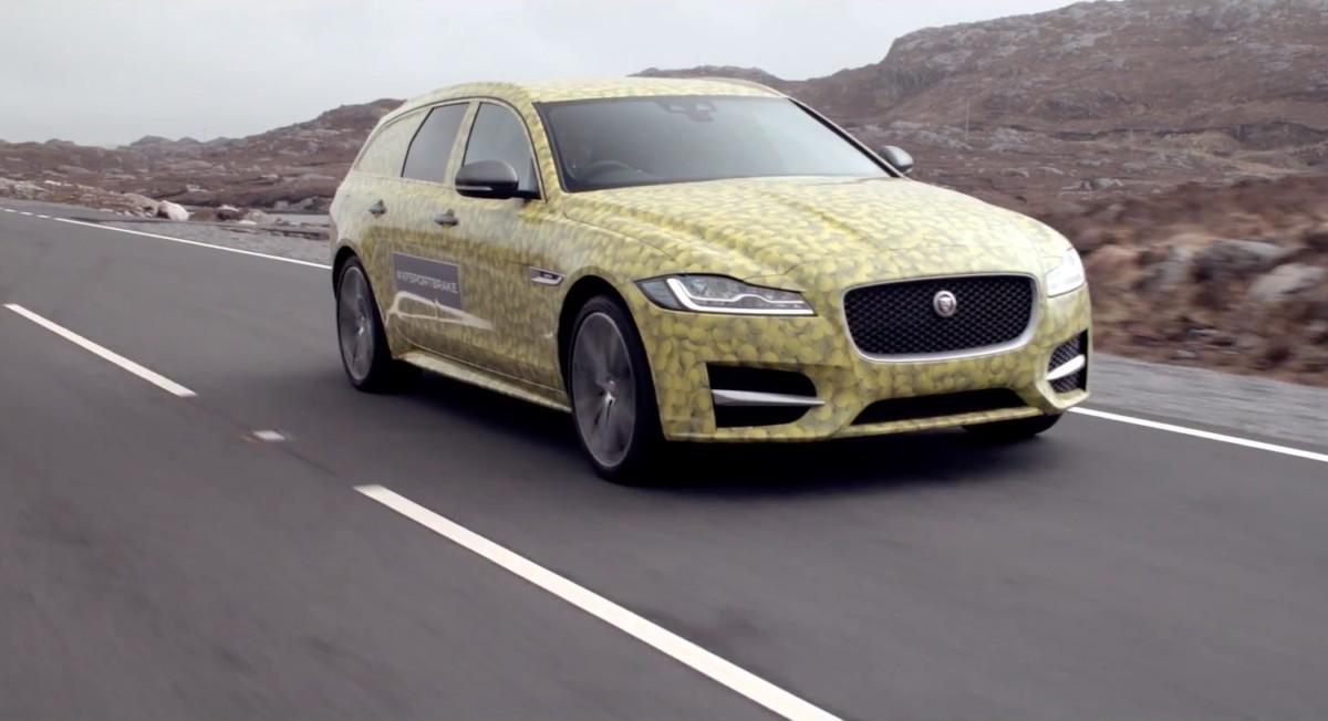 Новый универсал Jaguar XF Sportbrake представят в июне