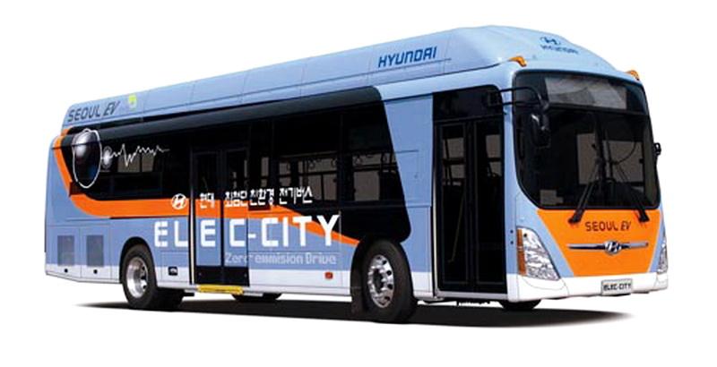 Электробус Hyuidai должен потеснить конкурентов на местном рынке уже в 2018 году