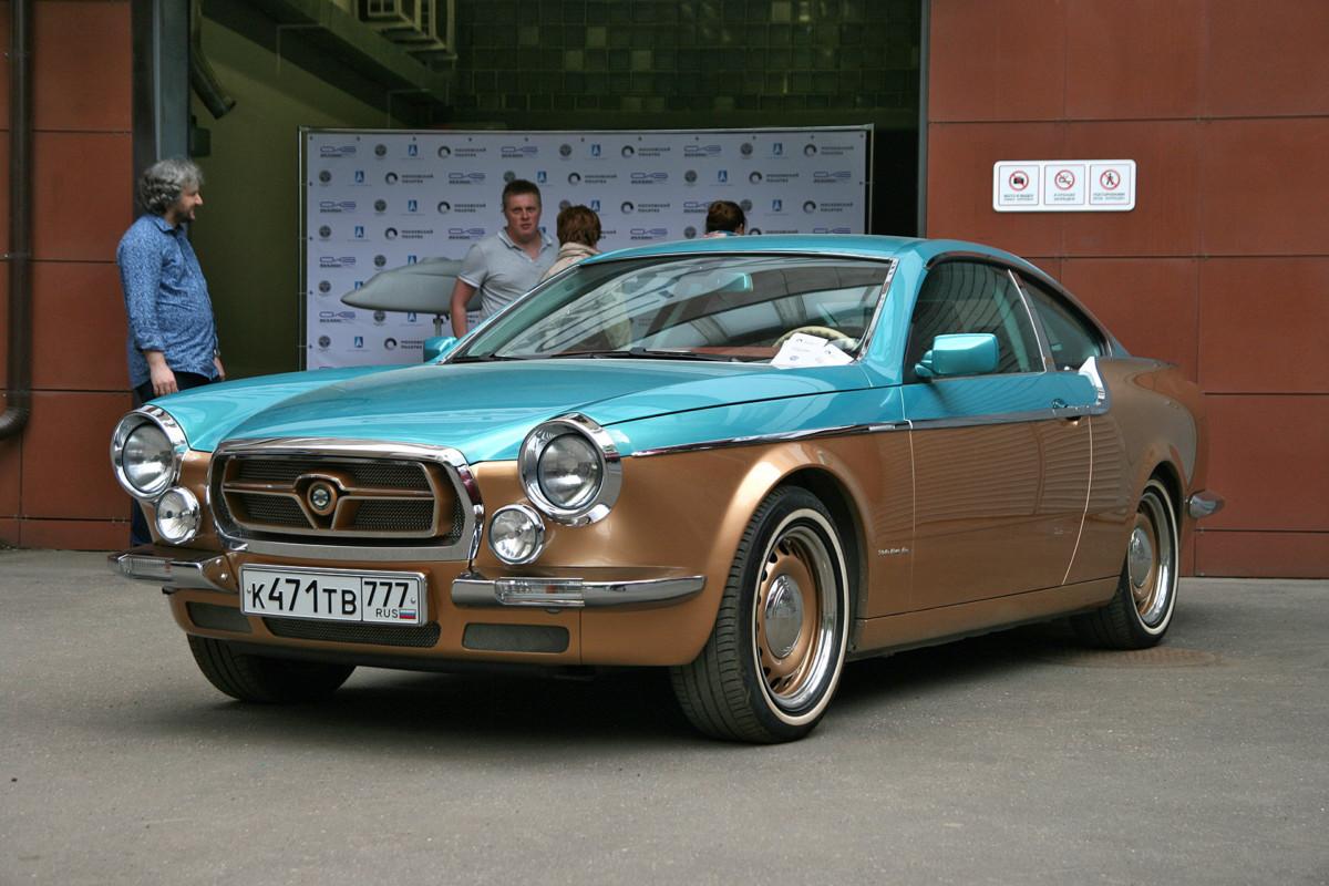 купе Vintage с лицом а-ля «Волга» ГАЗ-21