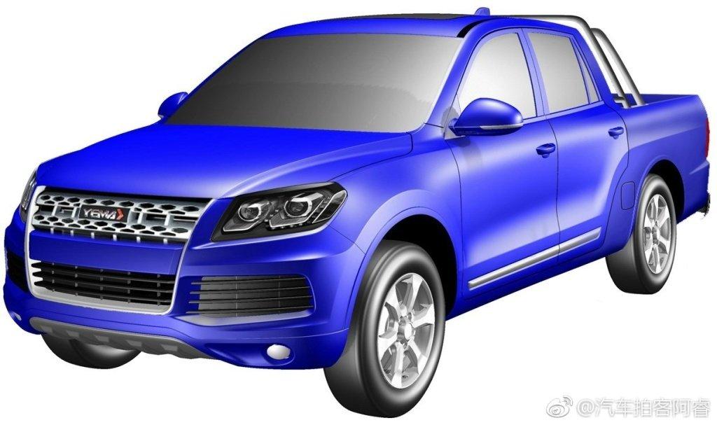 Китайский клон Volkswagen Touareg превратили в пикап