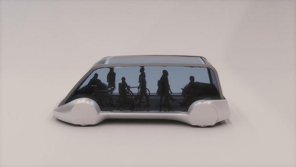Руководитель Tesla презентовал беспилотный электрический автобус