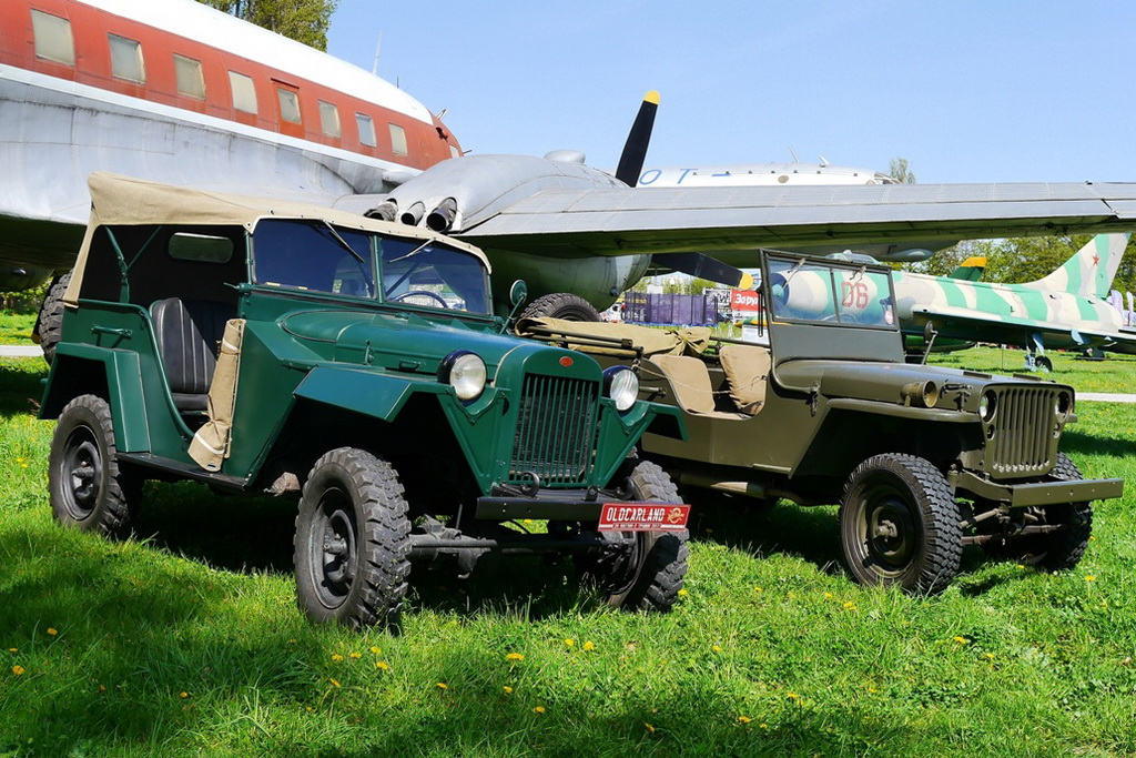 ГАЗ-67 и Willys