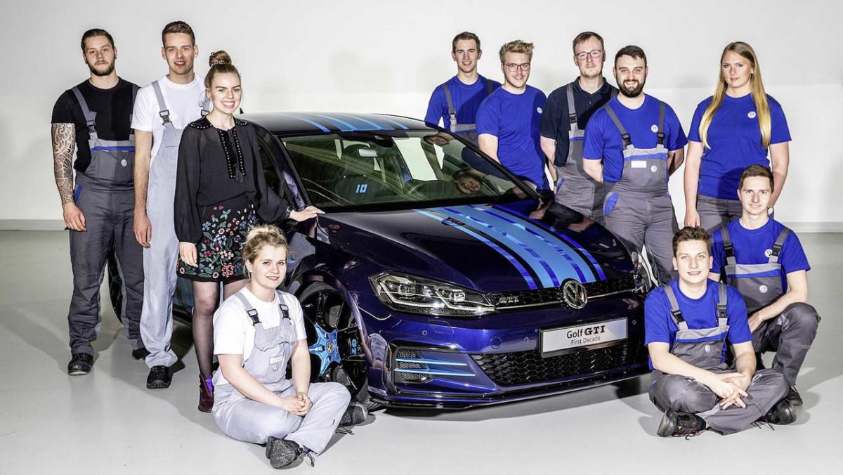 Немецкие студенты создали гибридный хот-хэтч Volkswagen Golf GTI