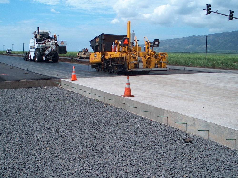 В Украине появятся новые бетонные дороги